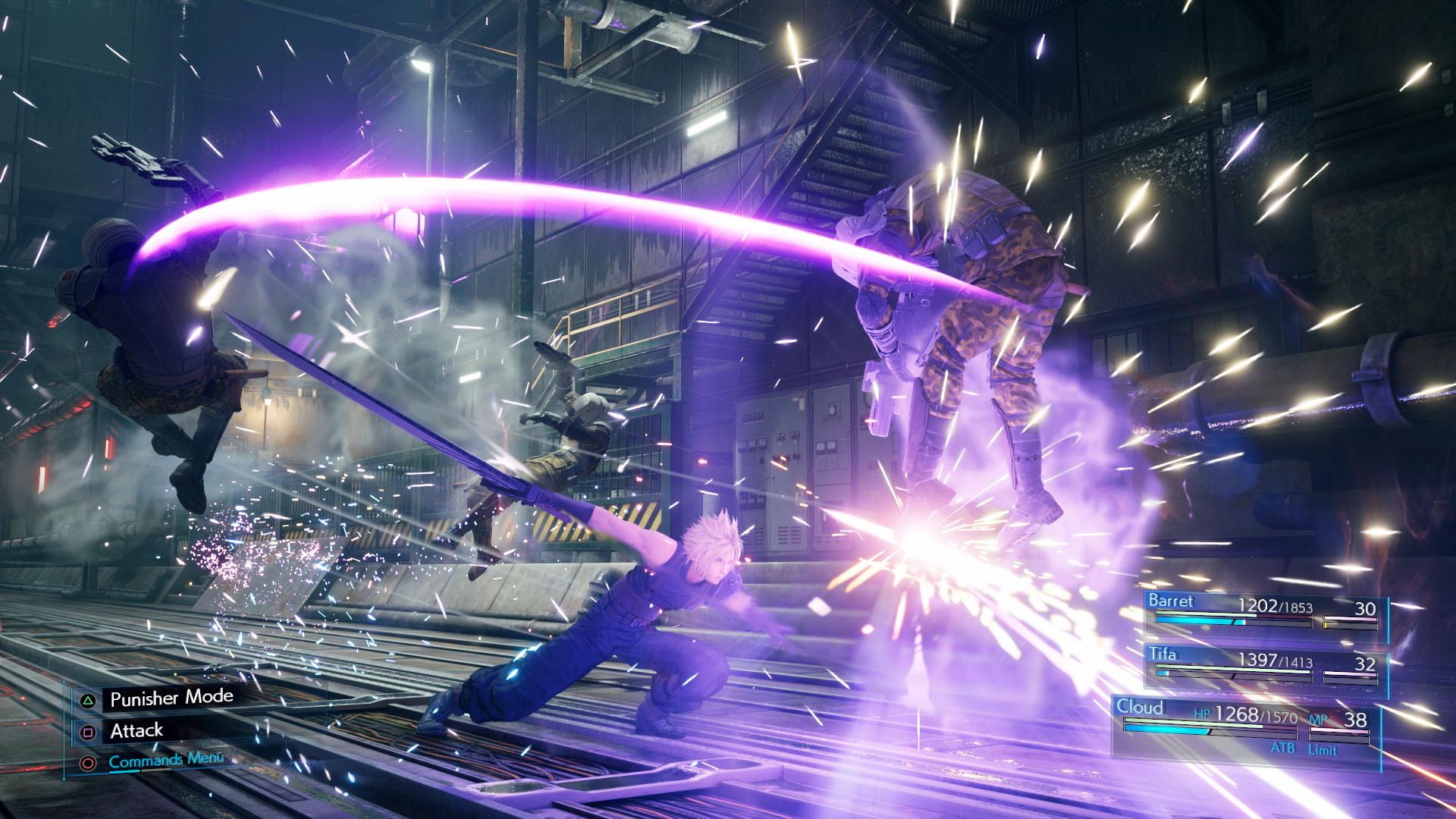 Nya Final Fantasy VII är segstartat men magiskt Vi har spelat Final Fantasy VII Remake