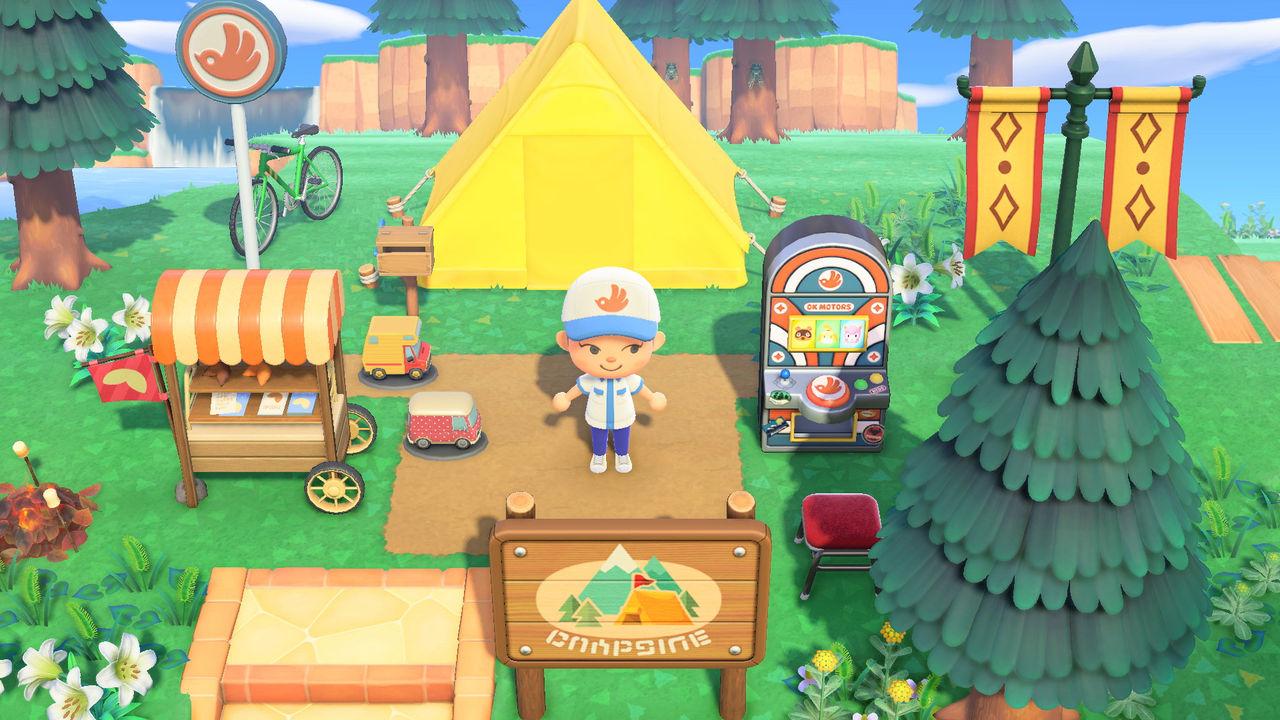 Animal Crossing chillar med äggen en aning