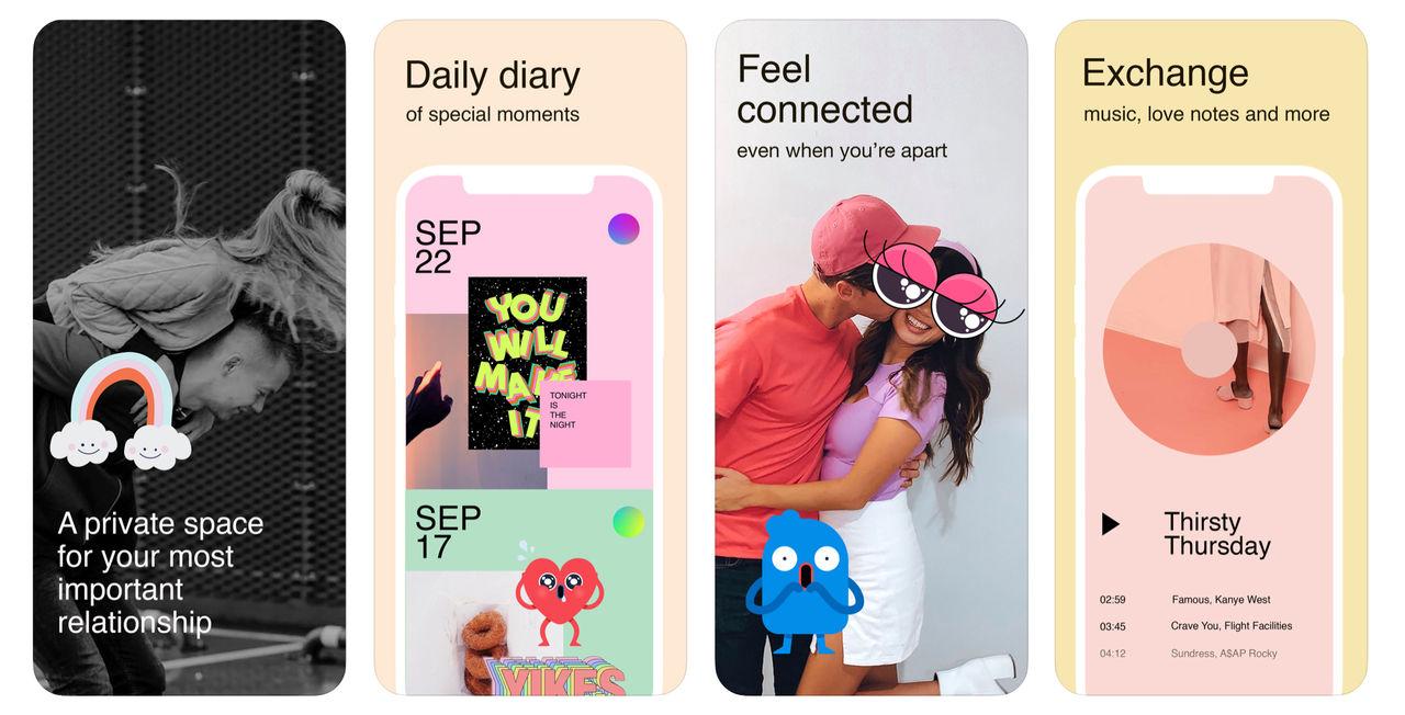 Facebook lanserar app för par