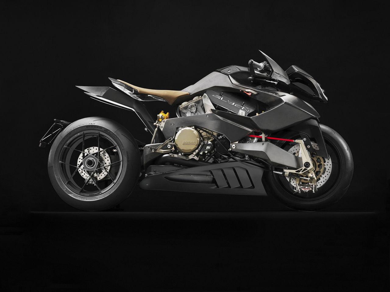 Vyrus presenterar motorcykeln Alyen