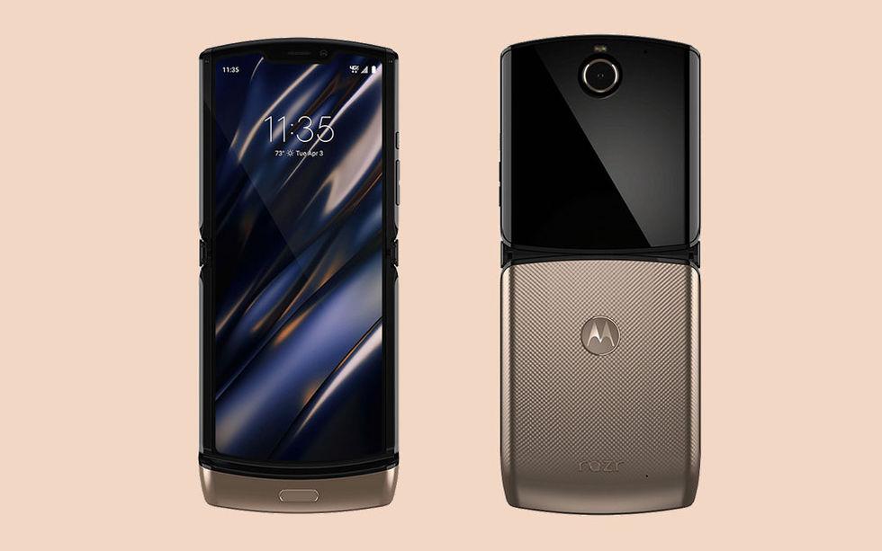 Motorola släpper Razr i roseguld