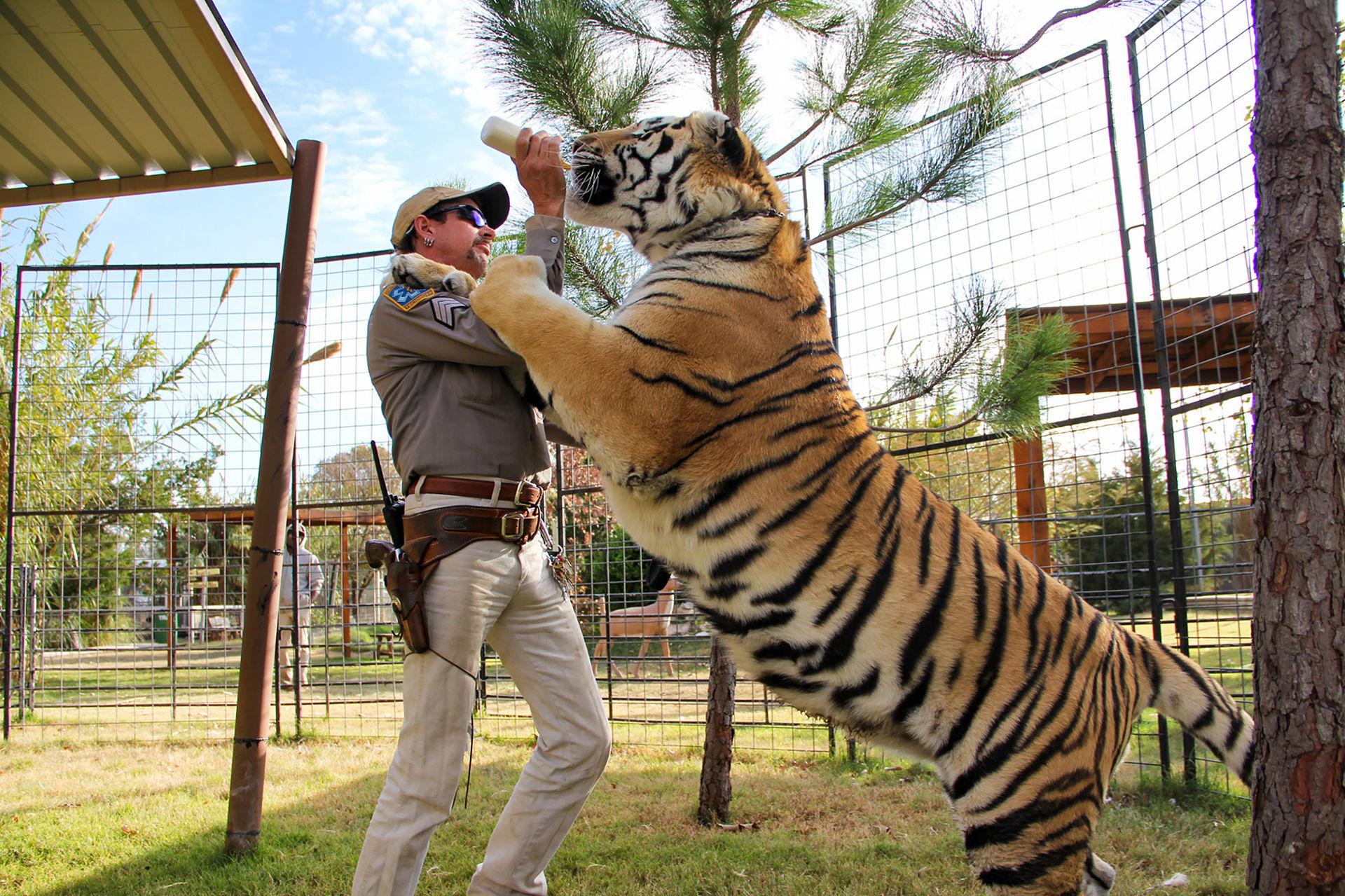 Extraavsnitt till Tiger King kommer på söndag