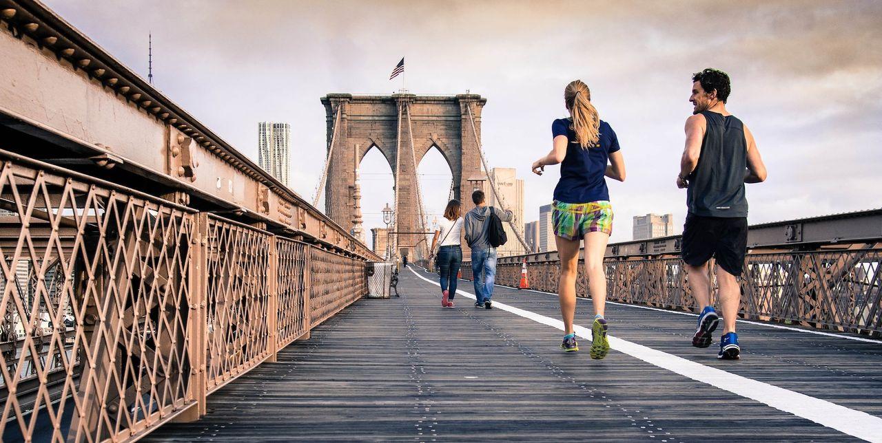Simulering visar att du bör hålla avstånd mot de som tränar