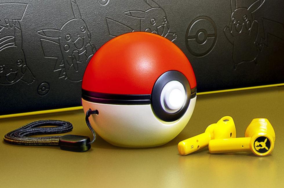 Nu kommer trådlösa hörlurar för pokémon-tränare