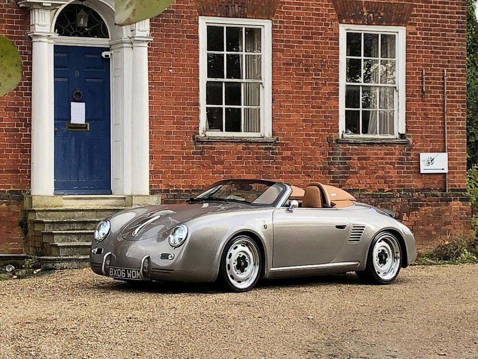 Porsche Boxster förklädd till 356 Speedster