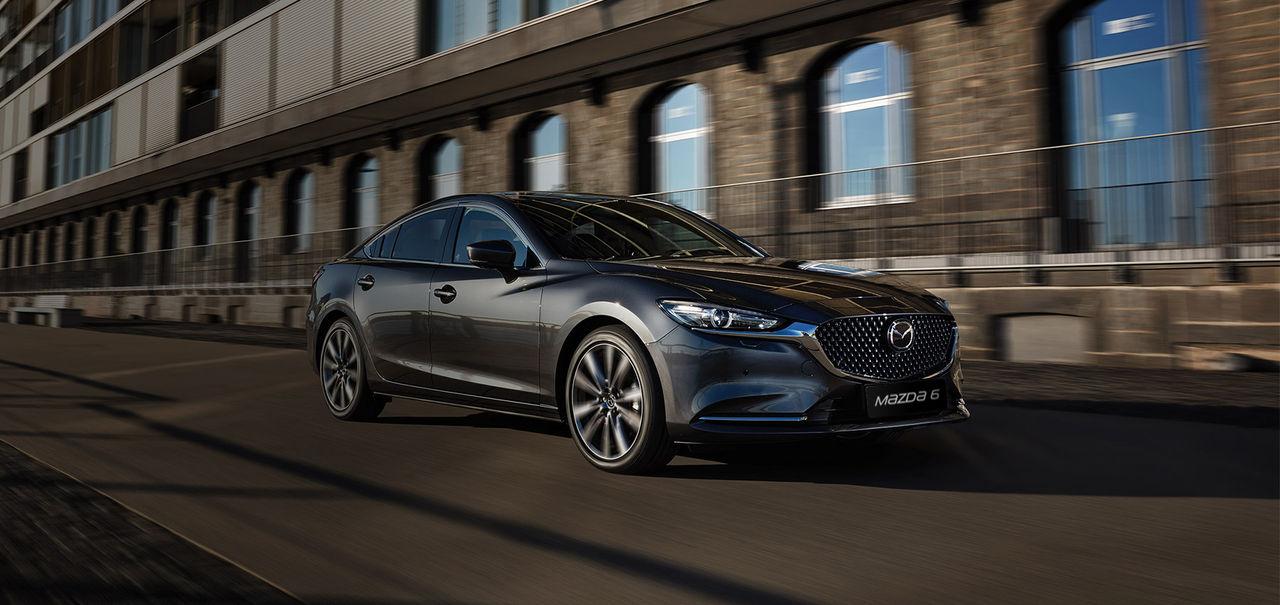 Bakhjulsdrift och rak sexa i nästa Mazda6?