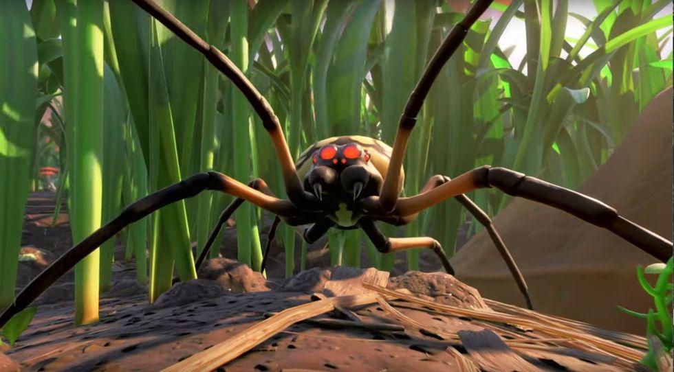 Grounded anpassas för arachnofobiker