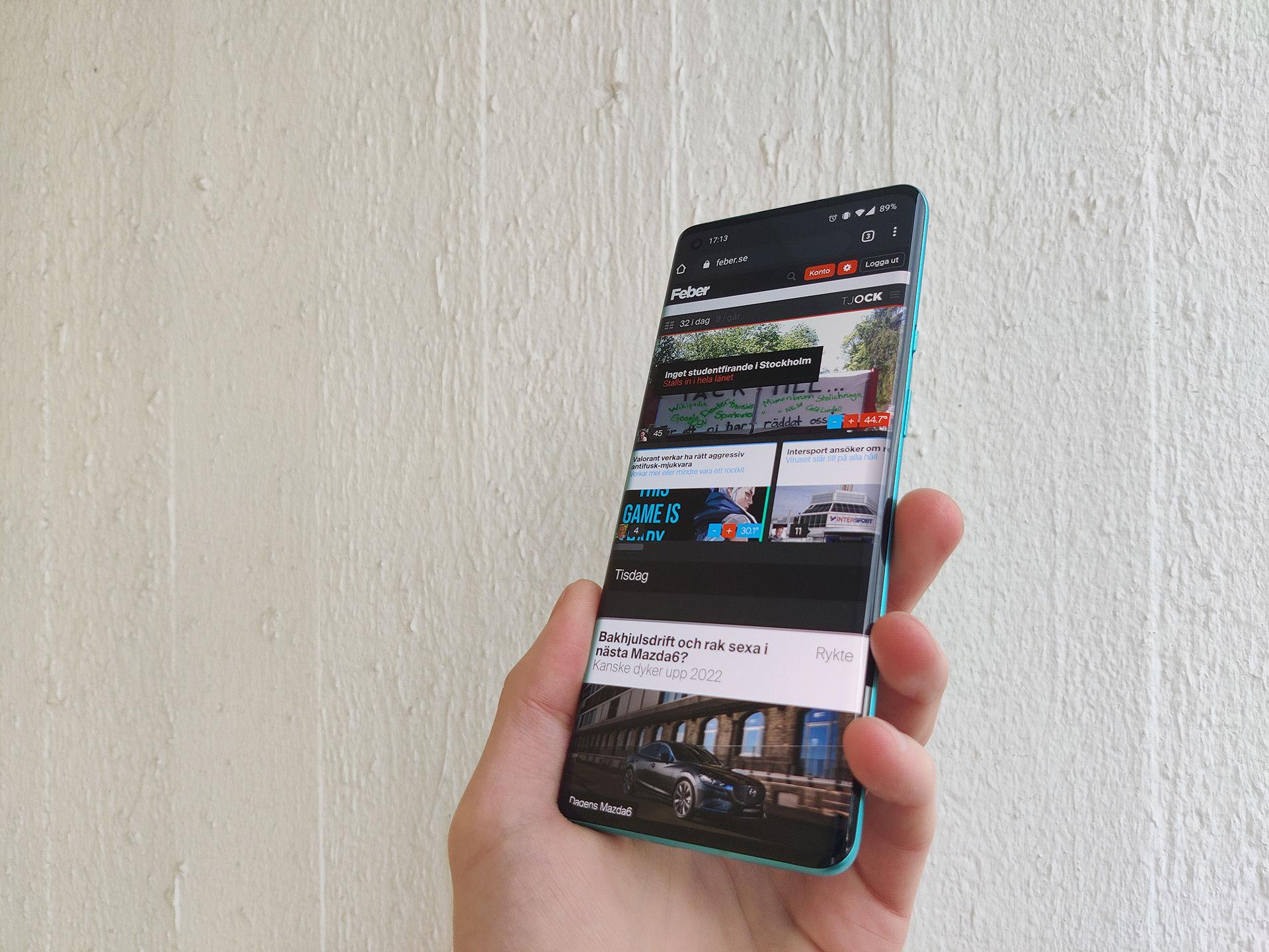 OnePlus finputsar bästa mobilupplevelsen med 8 Pro