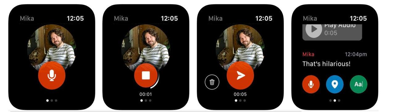 Facebook släpper chatt-app till Apple Watch