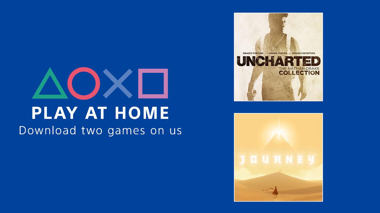 Sony drar igång Play At Home