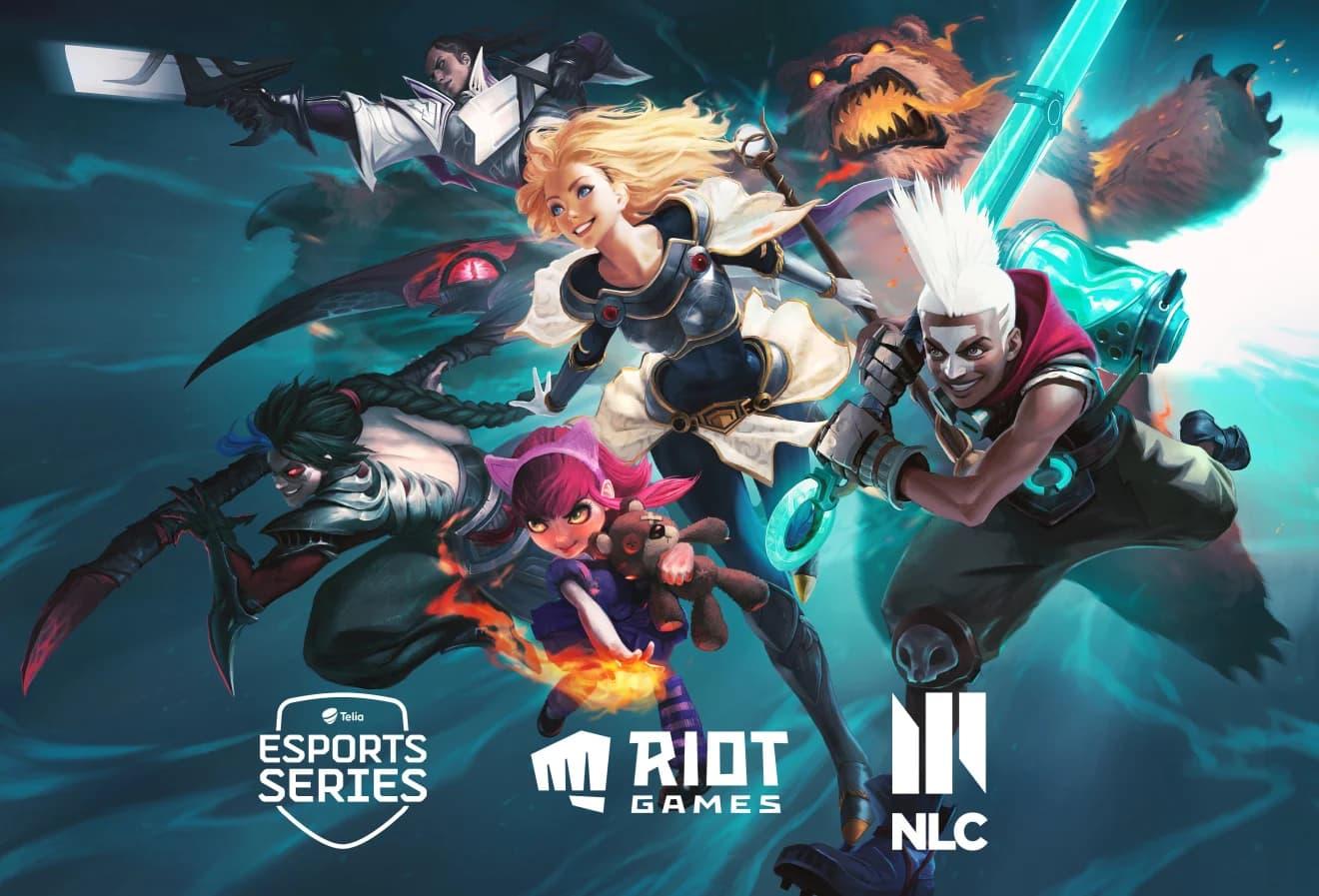 Telia drar igång Leage of Legend-turneringar Kommer att arrangera LoL-turneringar med Riot Games i sommar