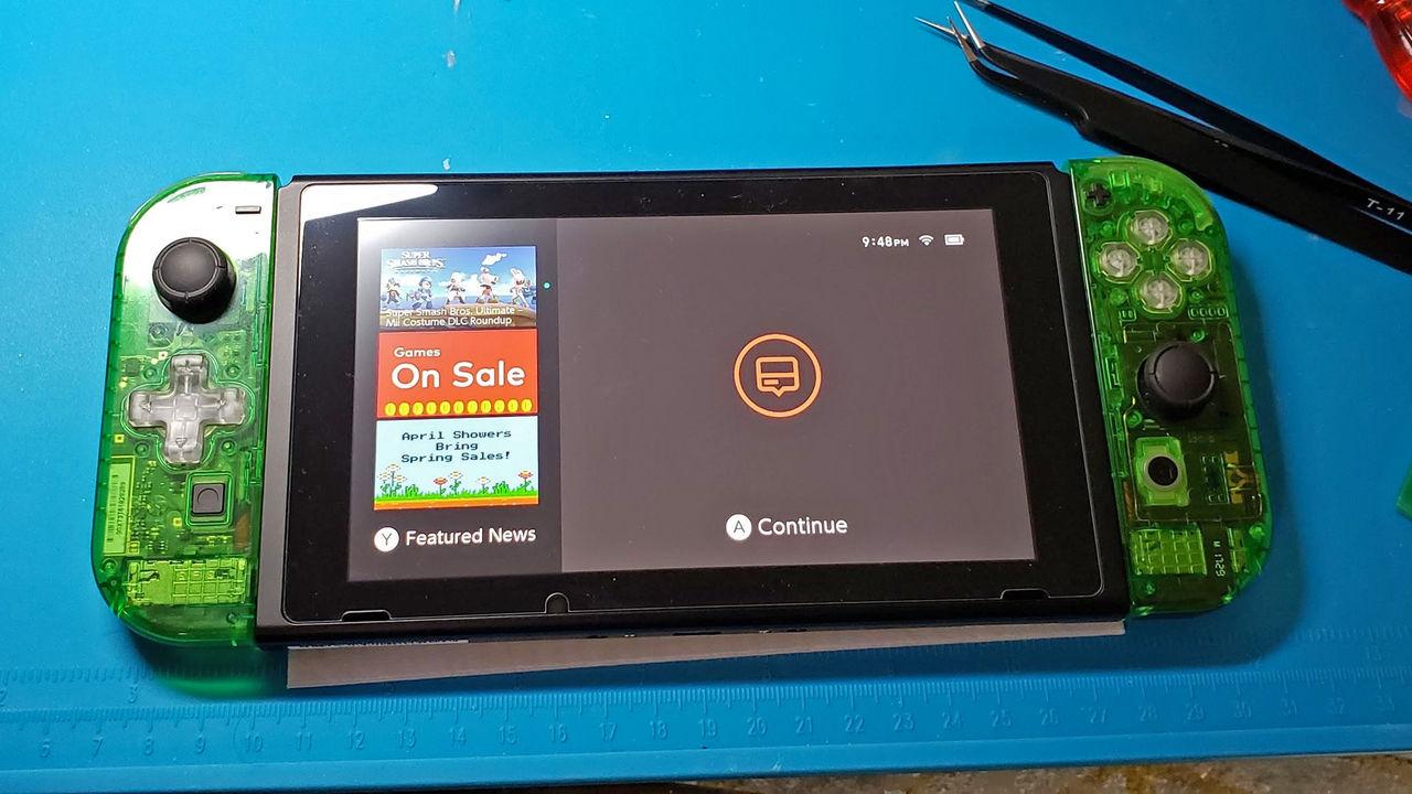 Bygg ihop ditt eget Nintendo Switch