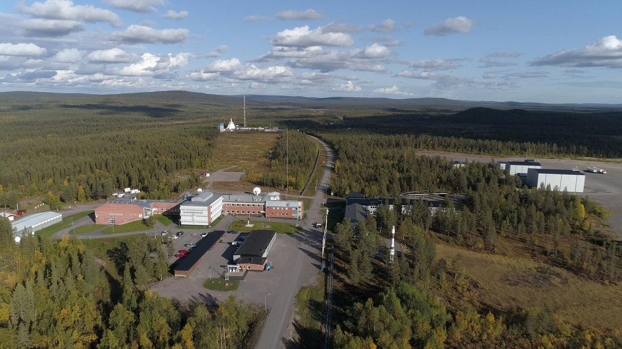 Esrange bygger raketramper för en ny rymdålder