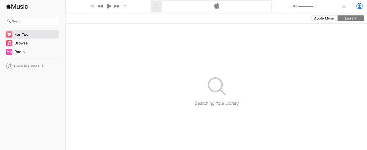 Apple släpper Apple Music på webben