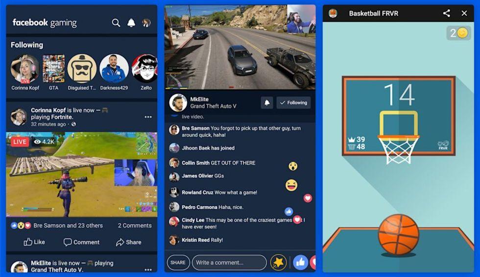 Facebook ryktas släppa gaming-app idag