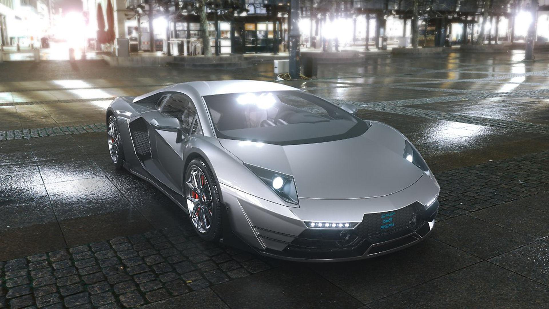 Det här är en ny eldriven superbil från Finland