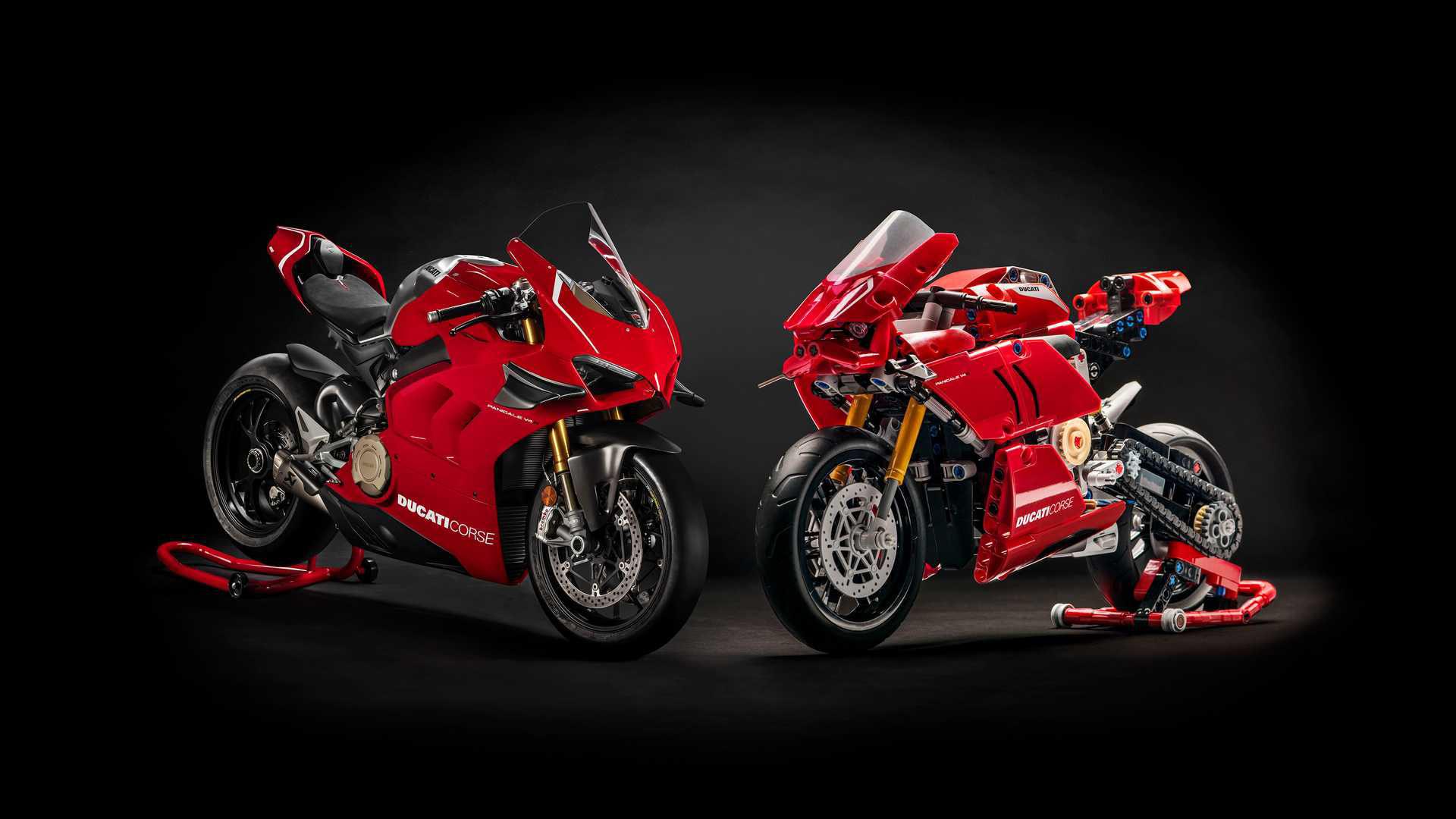 Ducati Panigale V4 R snart här som Lego Technic