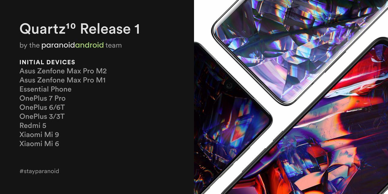 Ny version av Paranoid Android baserad på Android 10 ute nu
