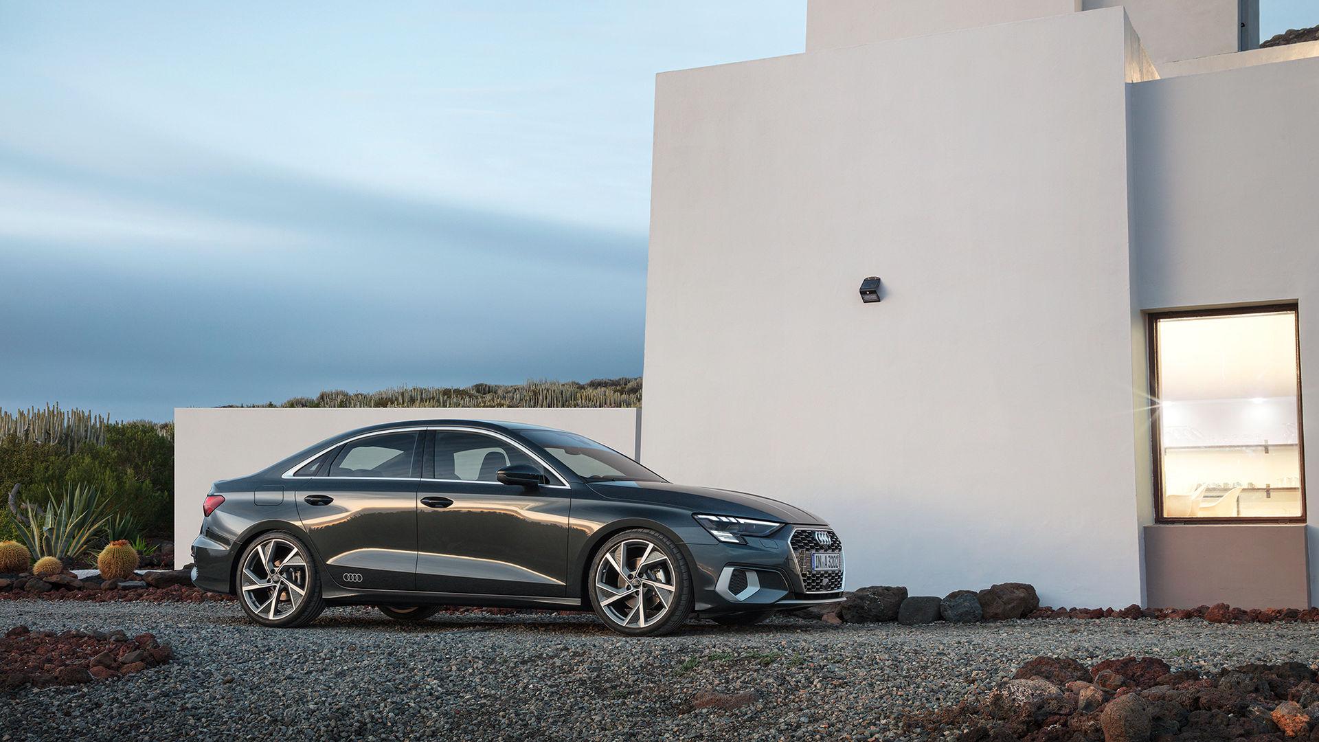 Audi presenterar nya A3 Sedan