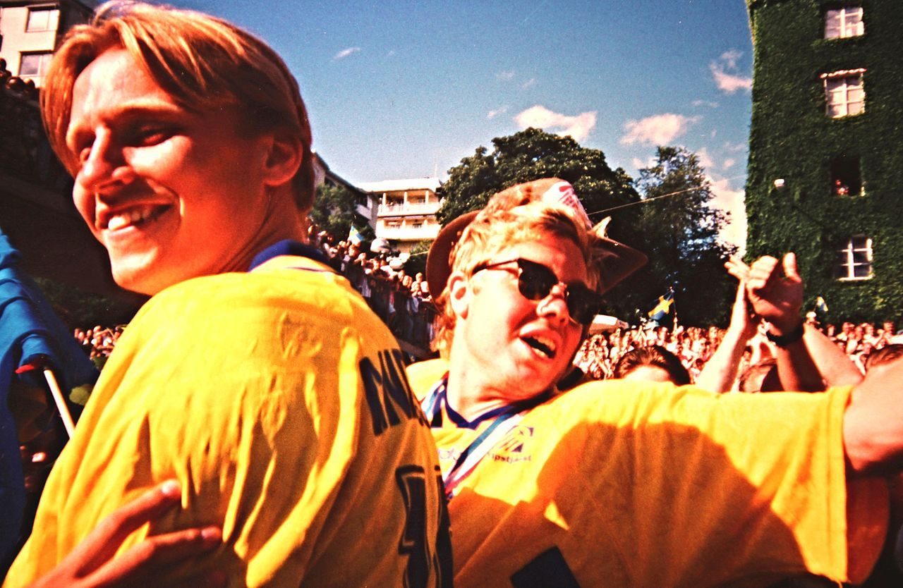 Hyggliga publiksiffror för SVT:s nostalgifest från 1994