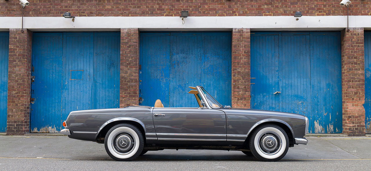 Brittisk startup bygger in eldrift i klassiska bilar