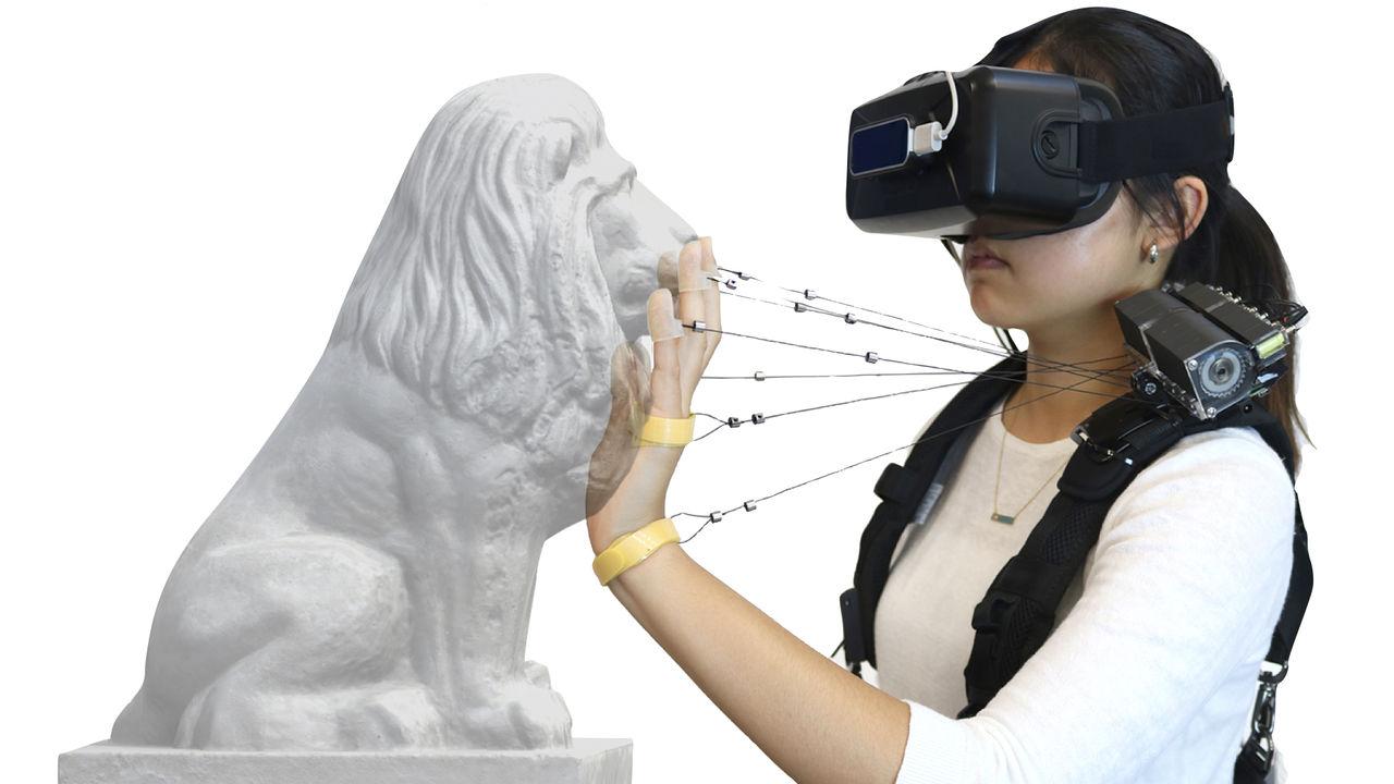 Wireality är ska ge bättre känselupplevelser i VR