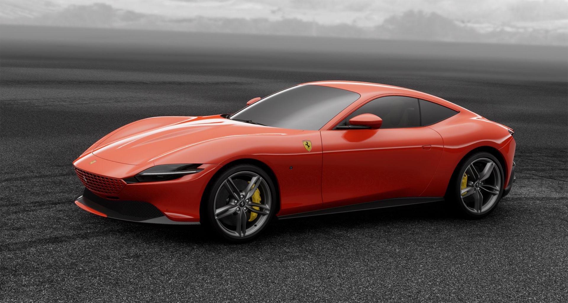 Nu kan du speca din Ferrari Roma online