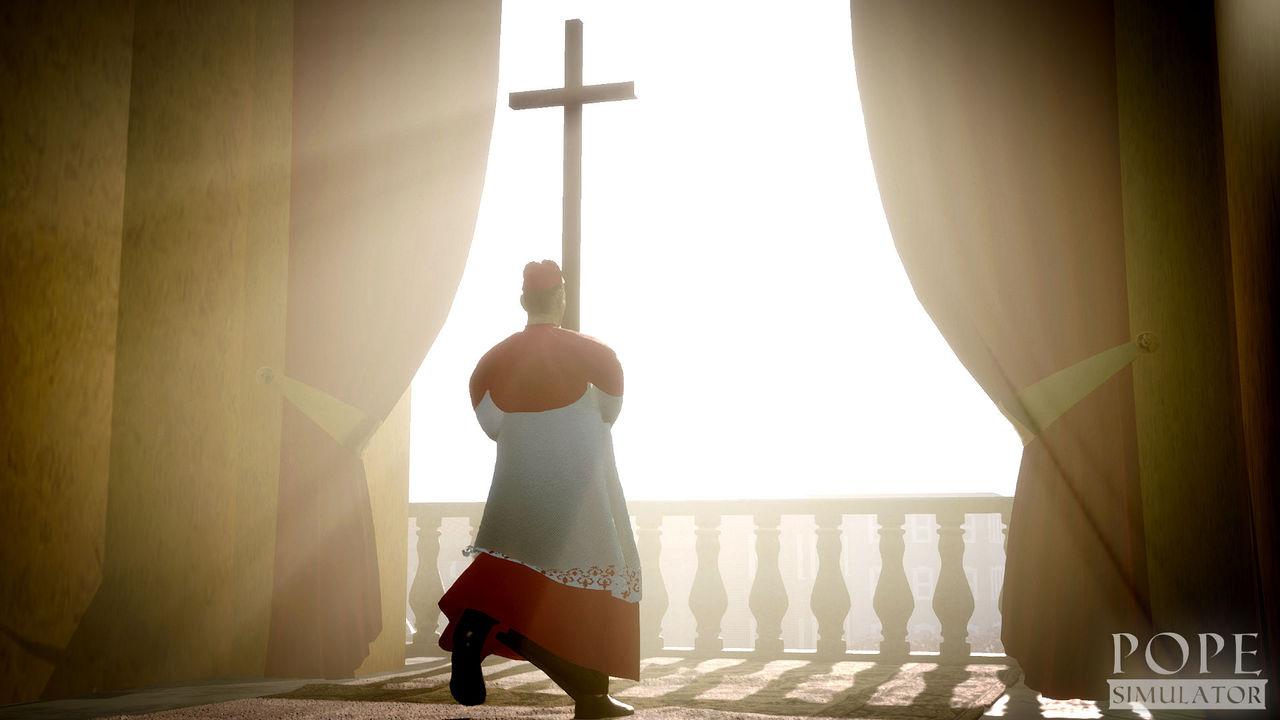 Kolla in trailern till Pope Simulator