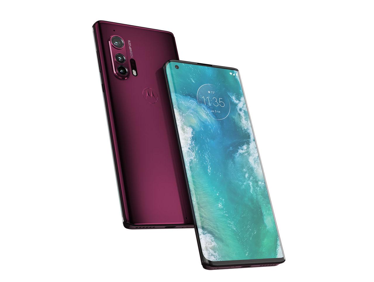 Motorola presenterar Edge och Edge+