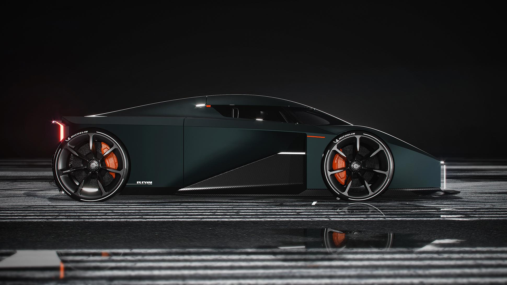 Ny tresitsig sportbil från Koenigsegg Designad under övervakning av Sasha och Christian