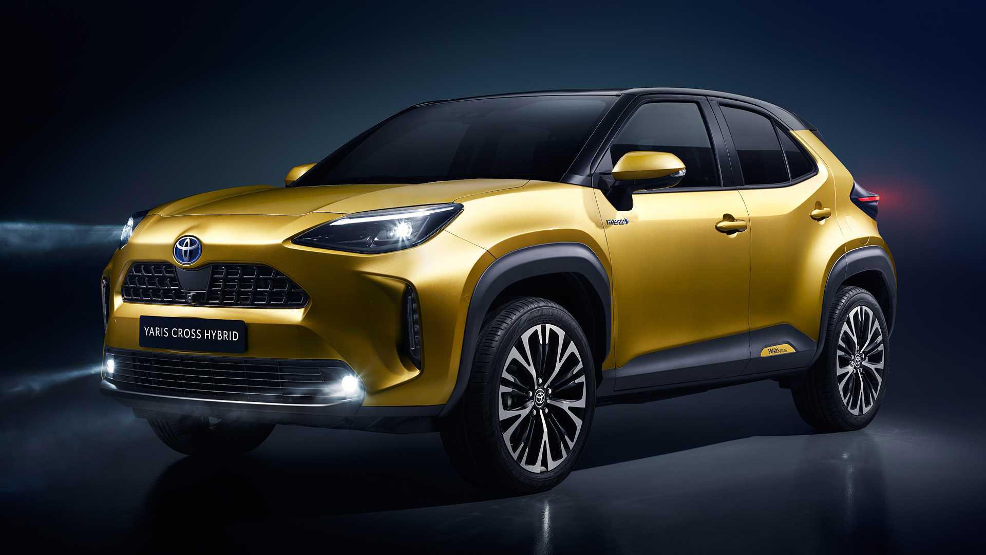 Toyota presenterar Yaris Cross