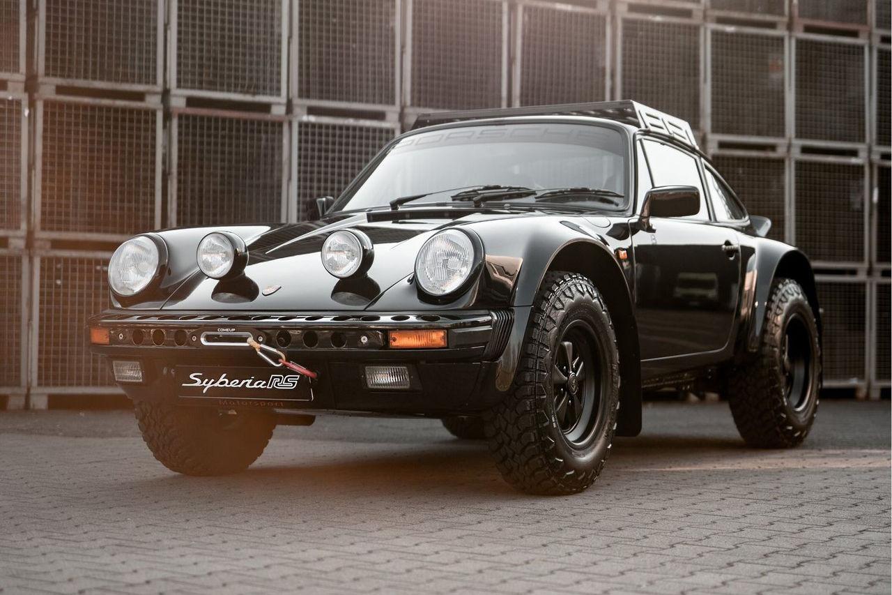 Klassisk Porsche 911 med rejäl markfrigång