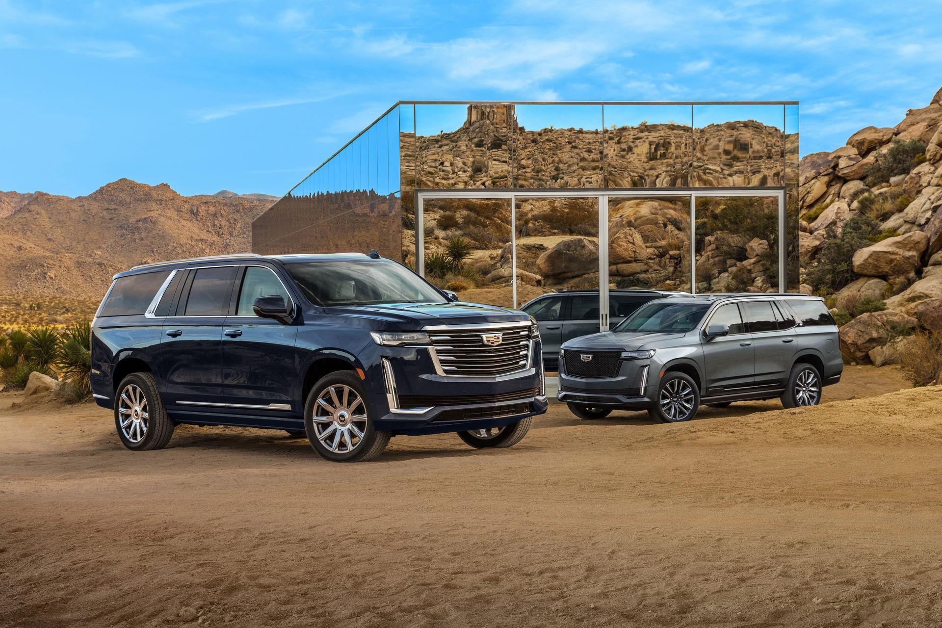 Cadillac rullar ut långa versionen av Escalade