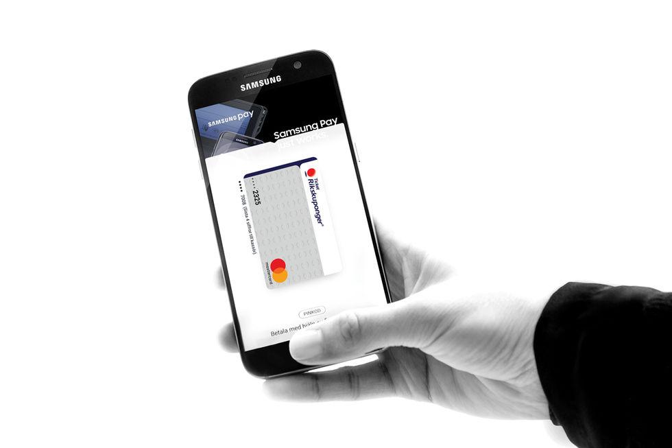 Strul med digitala plånböcker och Edenredkortet
