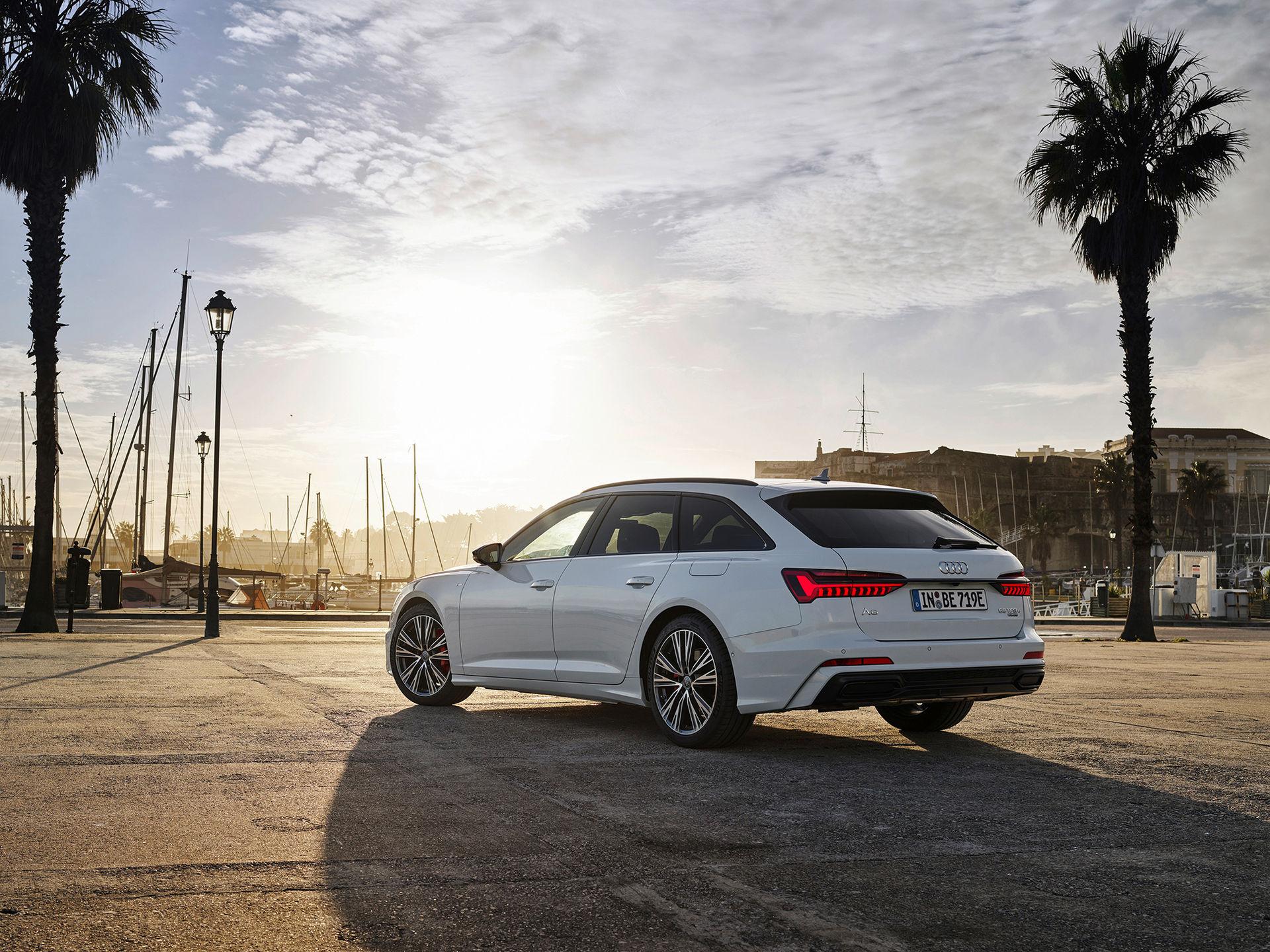 Nya Audi A6 som laddhybrid börjar säljas