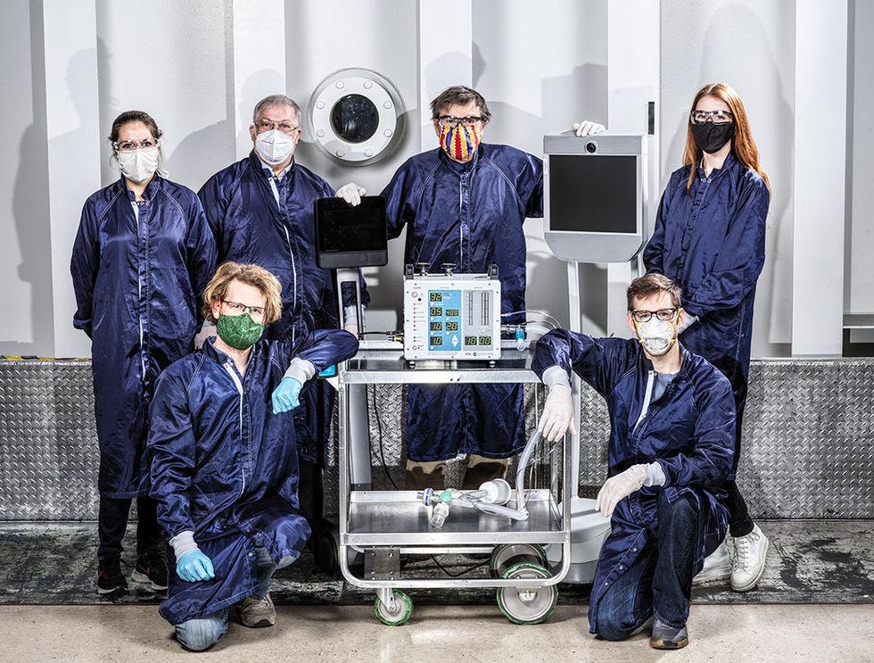 NASA designar respirator för Covid-19-patienter