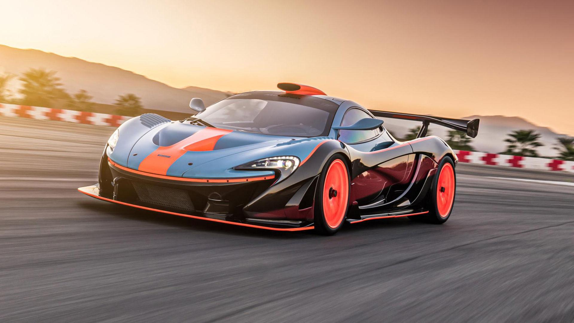 Lanzante presenterar McLaren P1 GTR-18