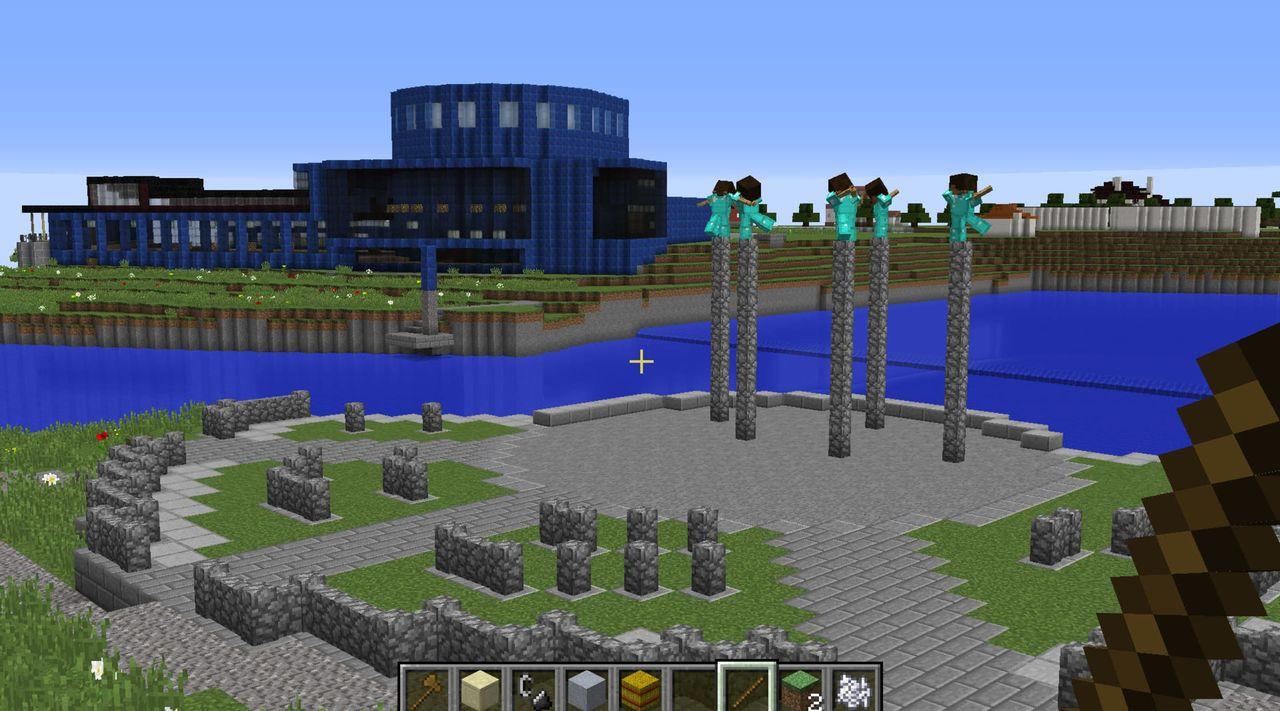 Lantmäteriet släpper nya Minecraft-kartor över Sverige