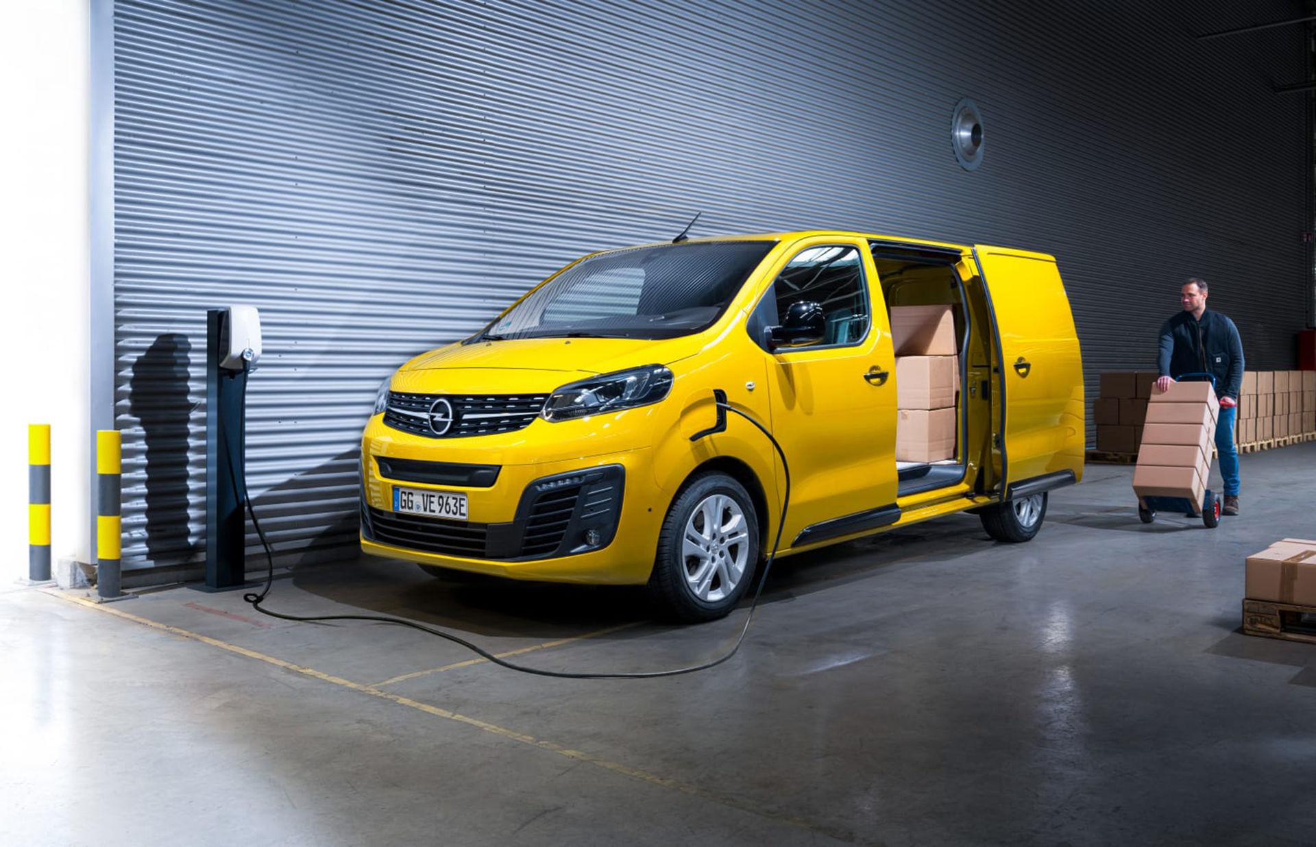 Opel presenterar eldrivna Vivaro-e