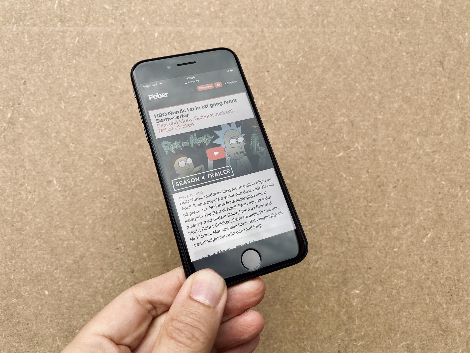 Testad! iPhone SE är liten, billig och snabb Apples budgettelefon imponerar