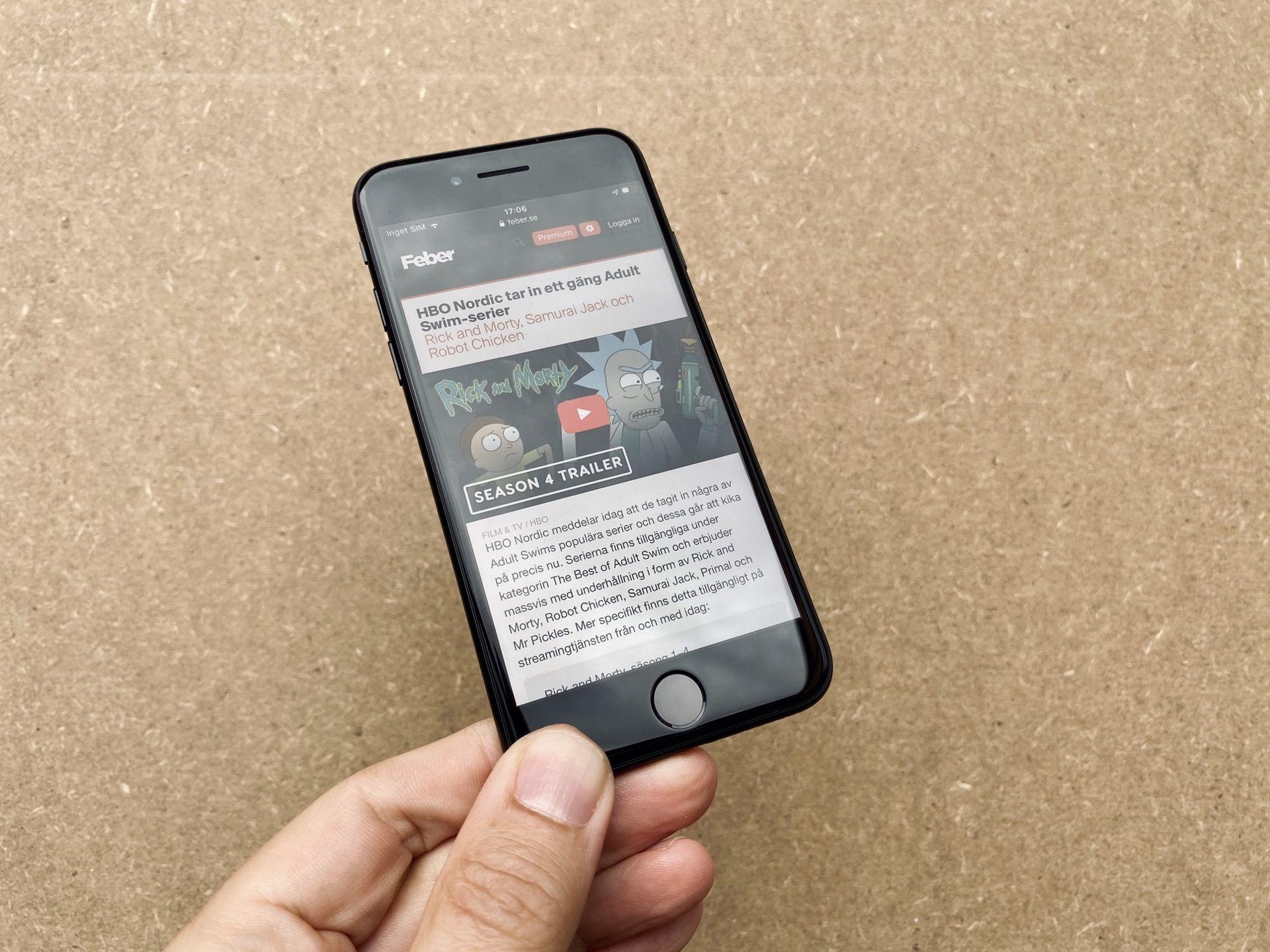 Testad! iPhone SE är liten, billig och snabb