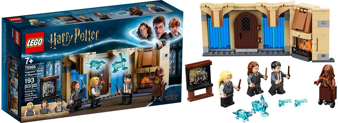 Snart kommer det en herrans massa Harry Potter-lego