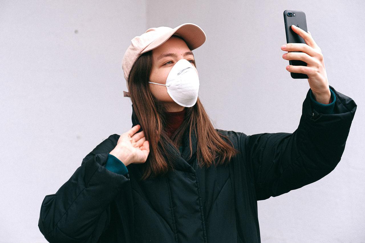Apple anpassar FaceID till maskbärare