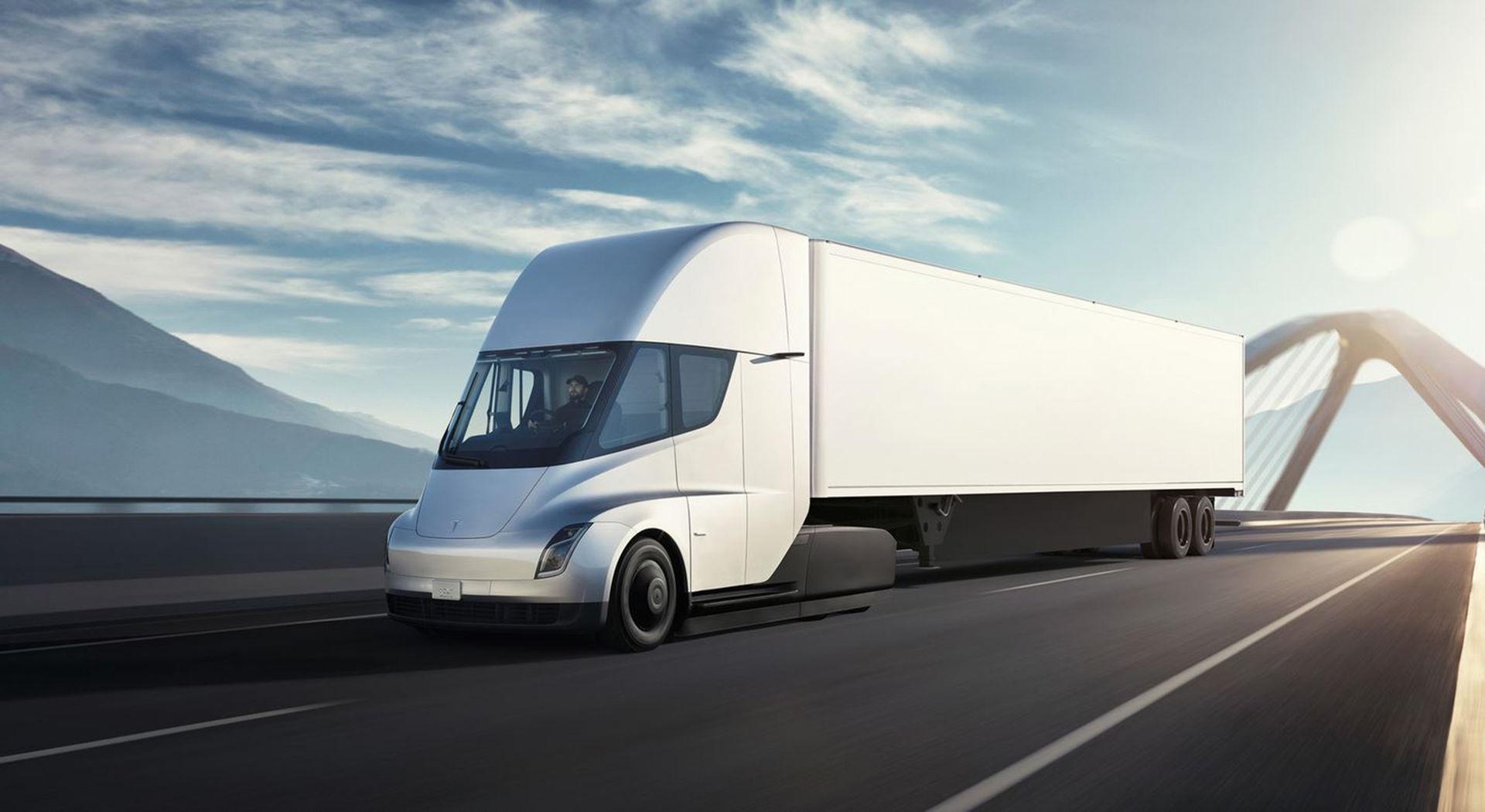 Teslas lastbil försenas till nästa år