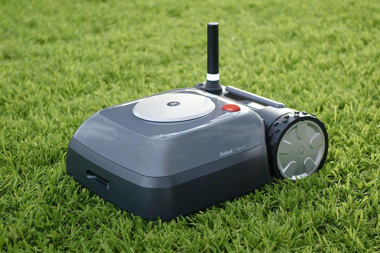 iRobot flyttar fram släpp av robotgräsklippare