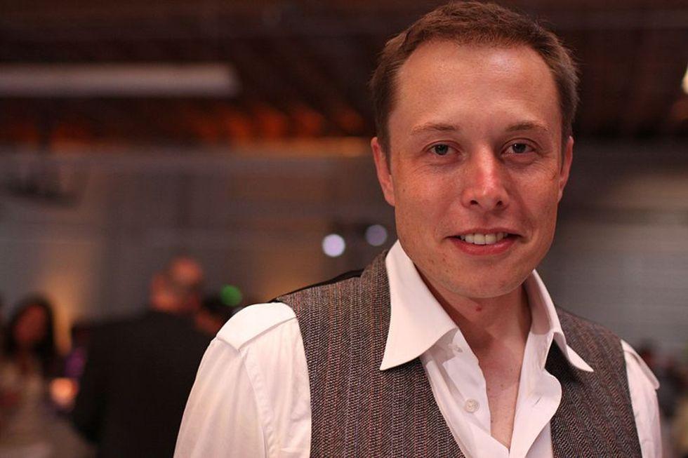 Elon Musk tyckte Teslas aktie var för dyr
