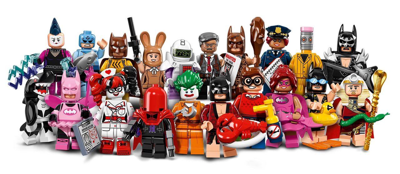 Hur ser det ut när LEGO bygger sina minifigurer?