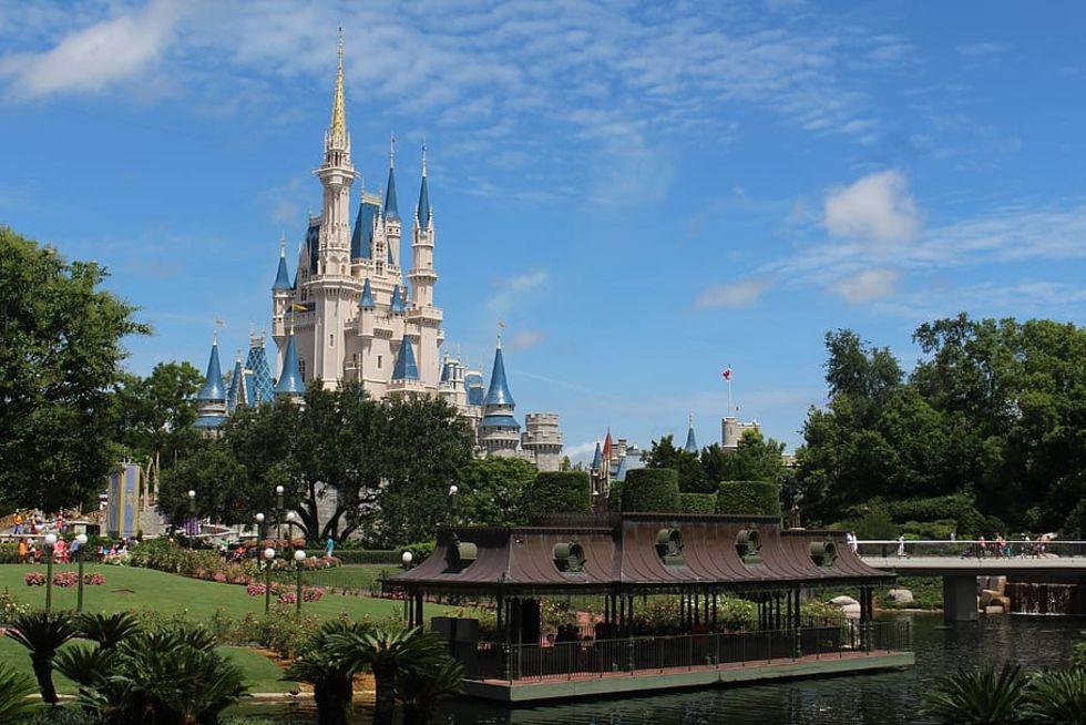 Snubbe gick i karantän på Disney-ö i Florida