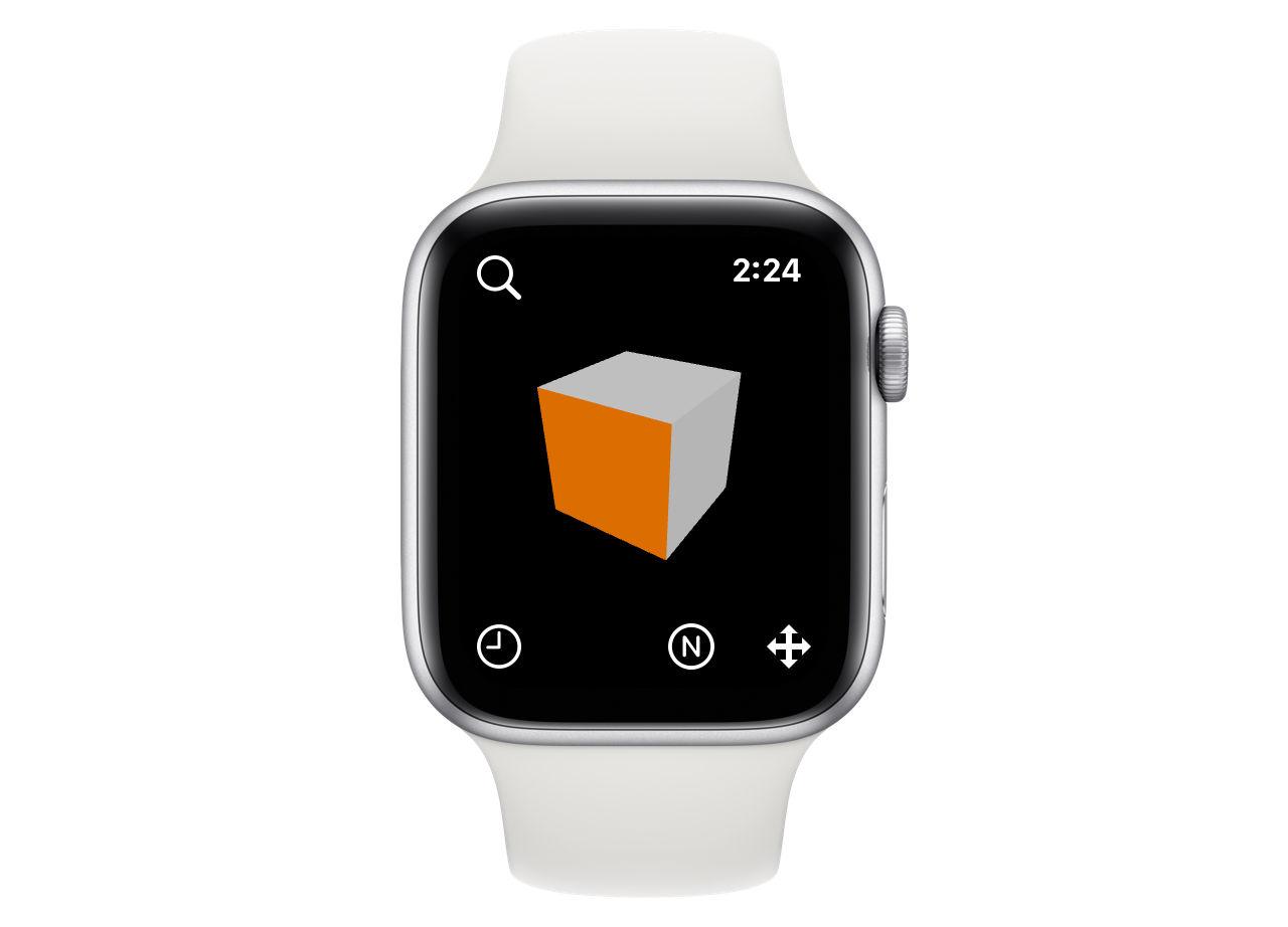 Svenskt företag släpper 3D-modellererare till Apple Watch