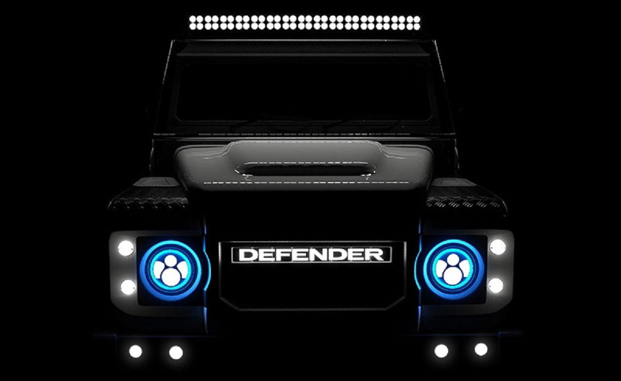 Eldriven Land Rover Defender får drivlina från Tesla